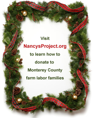 Nancy's Project - donate to Monterey County farm labor families